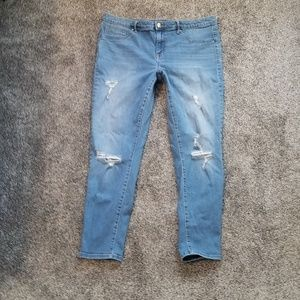 Mossimo High Rise Jegging Jean's Size 16